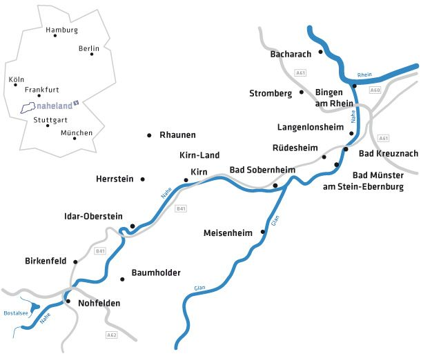 Discover The Rhine Valley And The Naheland Region